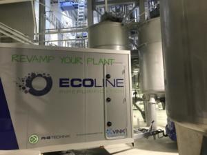 Ecoline vor Ort in  einer Produktionsanlage